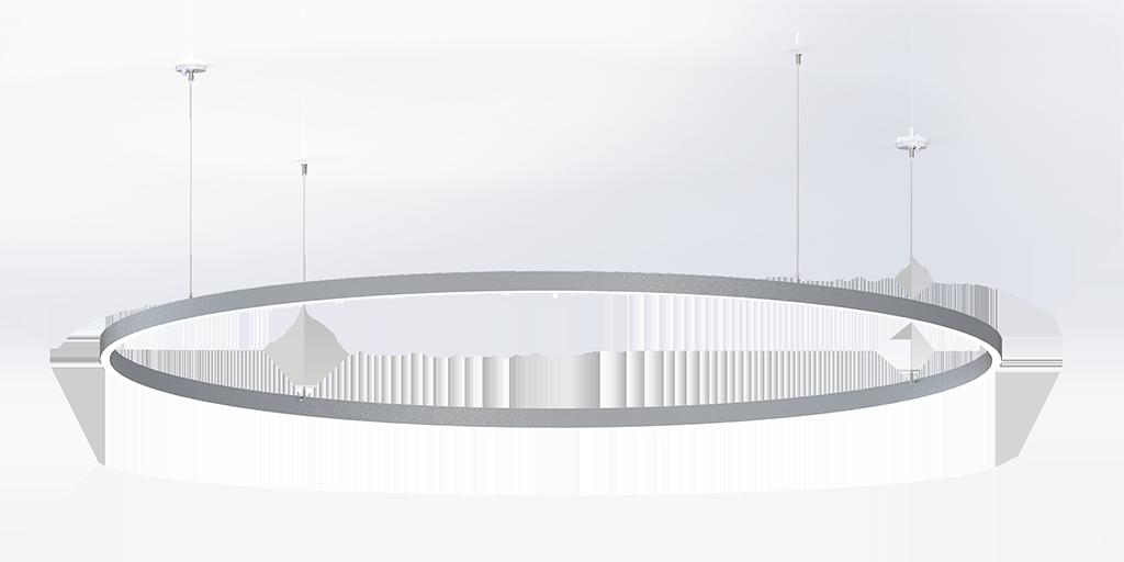 Delray Lighting Llc Dos Circular 8ft